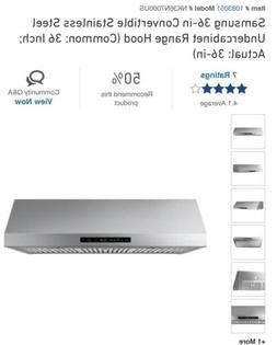 """Samsung NK30N7000US 30"""" Stainless Under-Cabinet Range Hood N"""