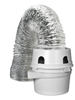 ProFlex Indoor Dryer Vent Kit For Electric Clothes Dryer, Ve