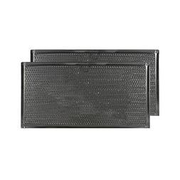 2 PACK 7-3/4 X 15 X 3/32 Range Hood Aluminum Grease Filters
