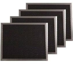 Range Hood Charcoal Filter For 97007696 6105C 4-Pack