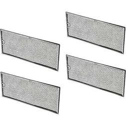 Samsung DE63-00196A Air/Grease Filter, 4 Packs Filters Range