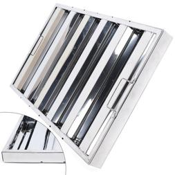 Commercial Kitchen Stainless Steel Grease Filter Baffle Kitc
