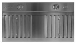 Trade-Wind VSL4366RC Designer Series 36in Wood Hood Liner wi