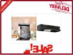 Under Cabinet Non-Vented Ductless 2-Speed Kitchen Range Exau