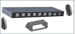 Verona VERECIRC Recirculating Kit to Range Hood VEHOOD3610