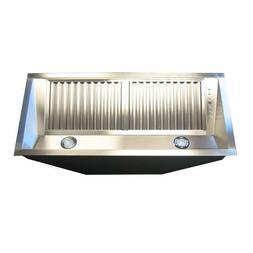 Z Line 698-28 Deep Stainless Steel Range Hood Insert, 28-Inc